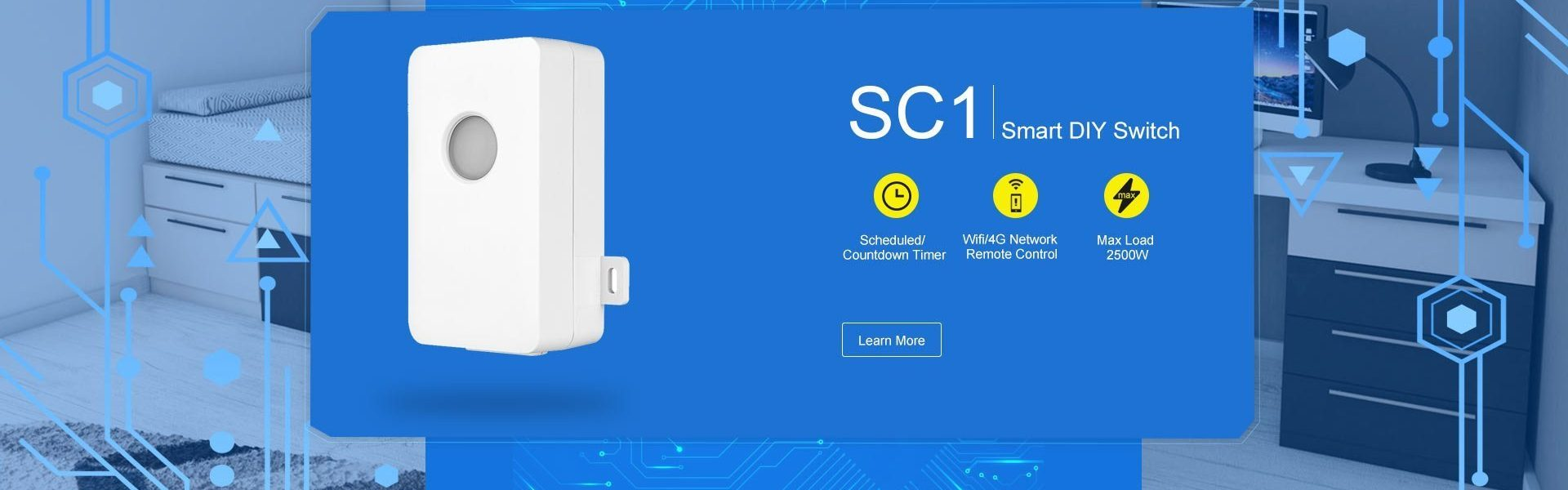 Broadlink SC1 best smart WiFi power switch 10 ampere