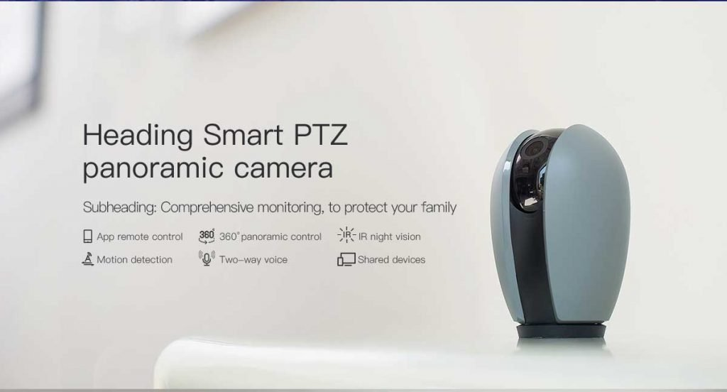 WiFi smart camera motion detection