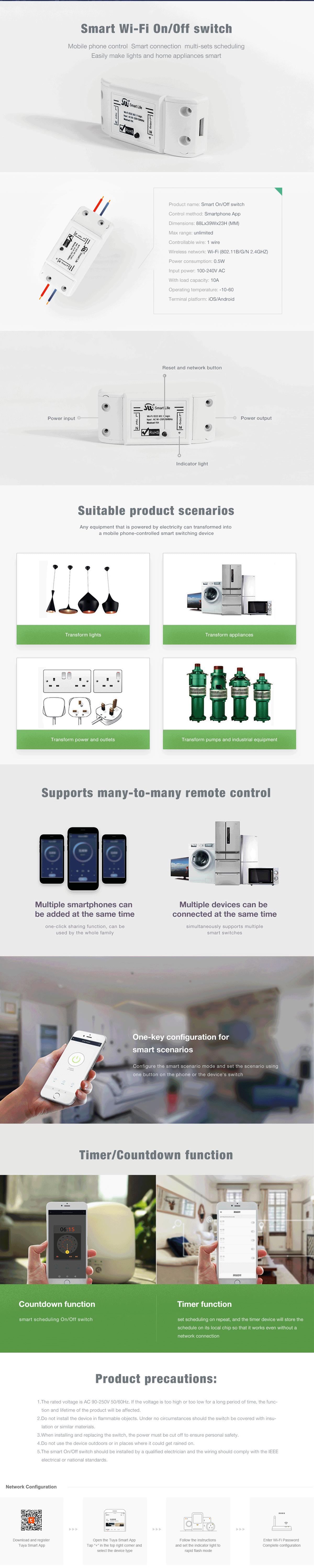 smart wifi relay switch